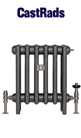 Cast iron radiator installer